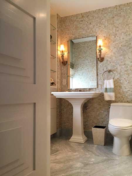 ... Interior Architect New York City Apartment, Guest Bathroom