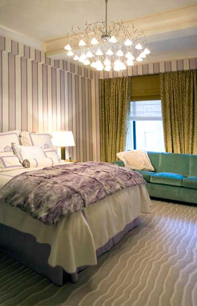 ... New York City Apartment Interior Design, Guest Bedroom, Guest Kitchen