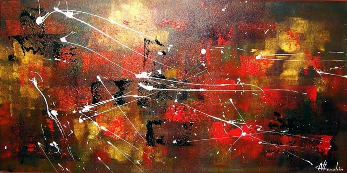 Turbo Artiste Peintre abstrait, Natallia Drouhin. CQ68