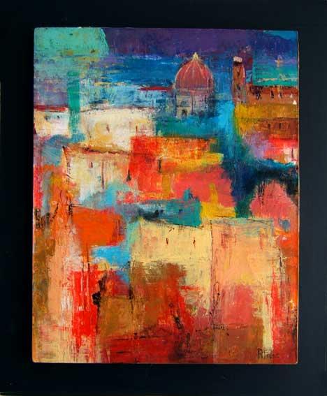 Artiste peintre roger folco for Artiste art abstrait
