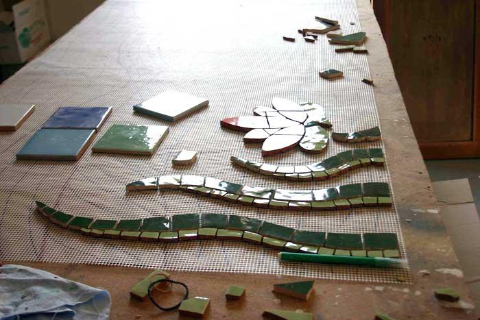 Decoration En Mosaique Decoration D Interieur Celine Georgeon