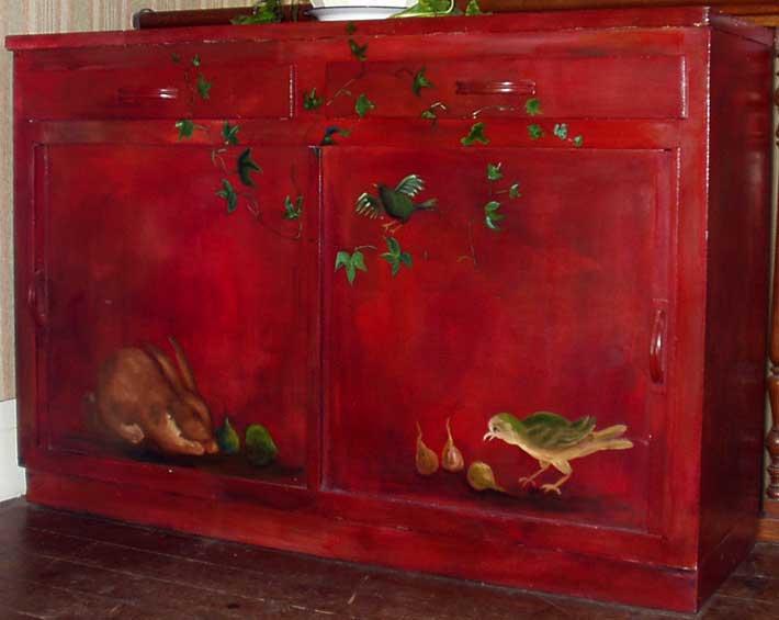 Meubles Peints Decoration Faux Bois Faux Marbre Trompe L Oeil Sur