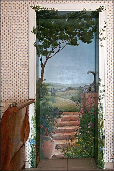 Peintre en decor en loir et cher blois peinture - Decoration trompe l oeil ...